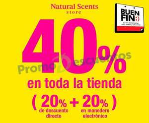 El Buen Fin 2016 en Natural Scents, L'Occitane y The Body Shop