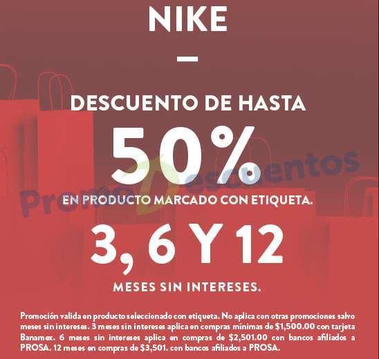 El Buen Fin 2016 en Nike: hasta 50% de descuento