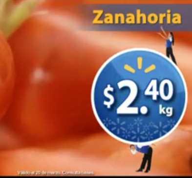 Martes de Frescura Walmart marzo 20: zanahoria $2.40 Kg, papaya $7.60 Kg y más