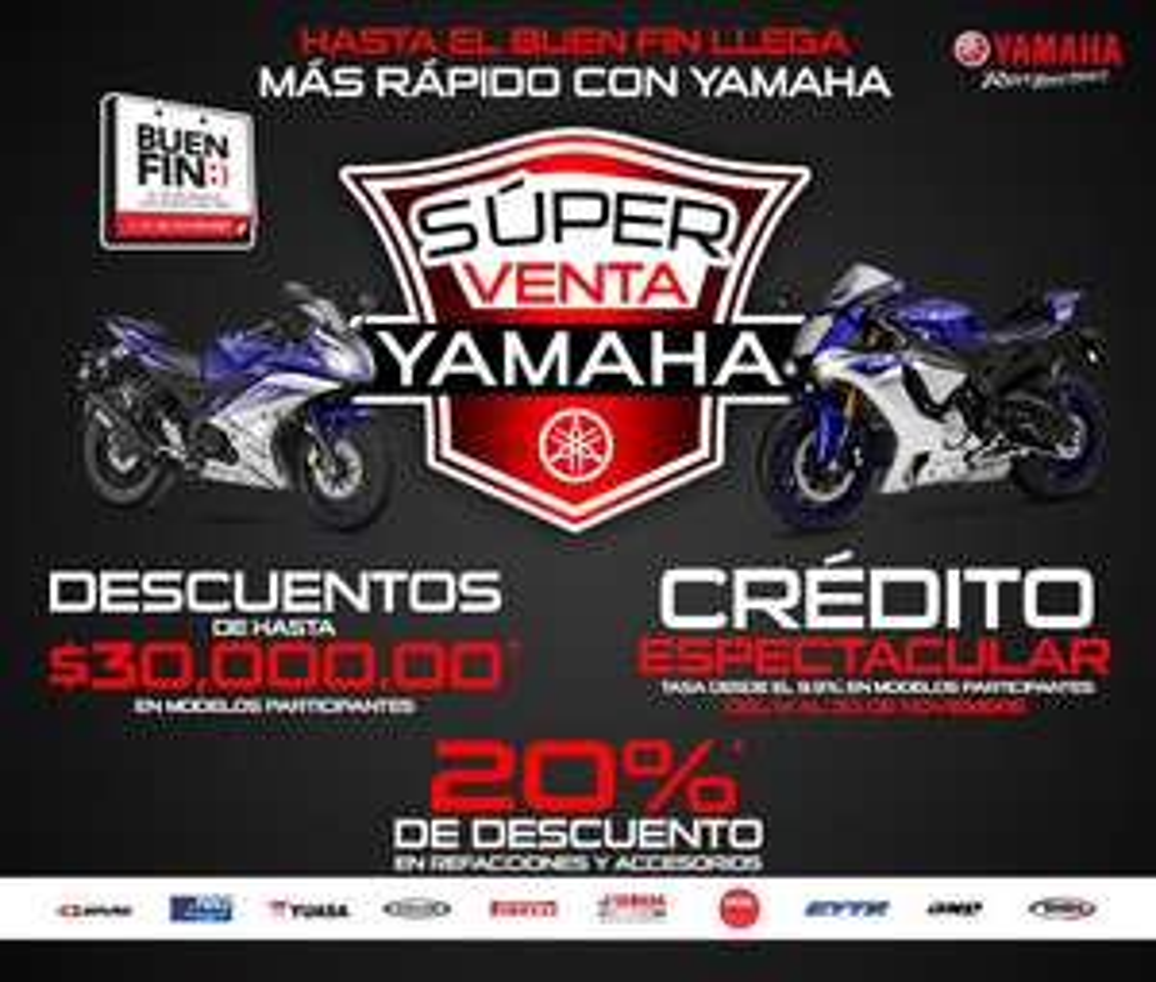 Promociones del Buen Fin 2016: Yamaha