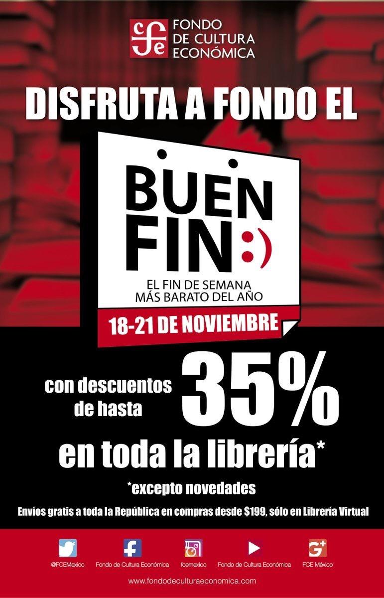 Promociones del Buen Fin 2016: Fondo de Cultura Económica
