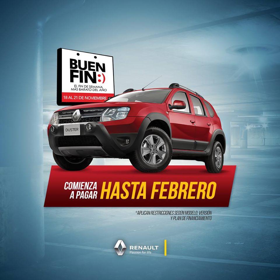 Promociones del Buen Fin 2016: Renault