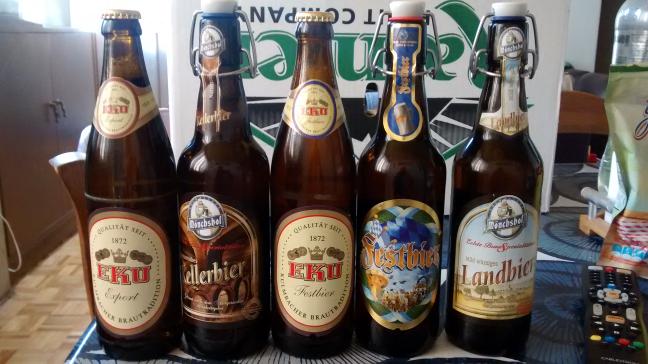 Superama copilco: Cerveza alemana 500ml diversas marcas