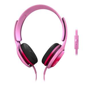 Amazon: Philips SHO3305FIN O'Neil Cruz Audífonos, rosa