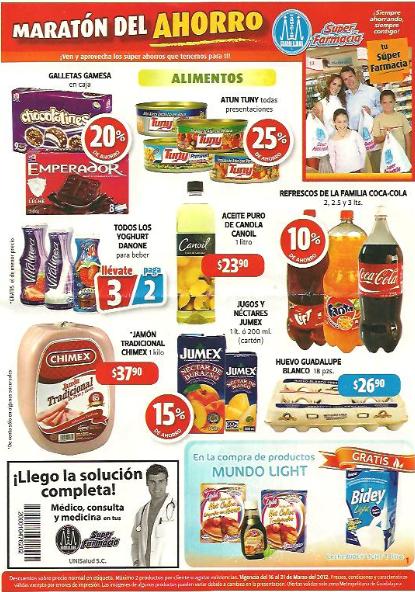 Folleto Farmacias Guadalajara marzo 16: 3x2 en línea Gerber, 2x1 en Lady Speed Stick, Stefano y más