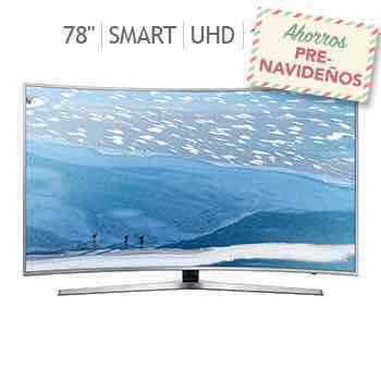 "Costco: pantalla Samsung curva 78"" Smart TV Ultra HD 120MR UN78KU6500"
