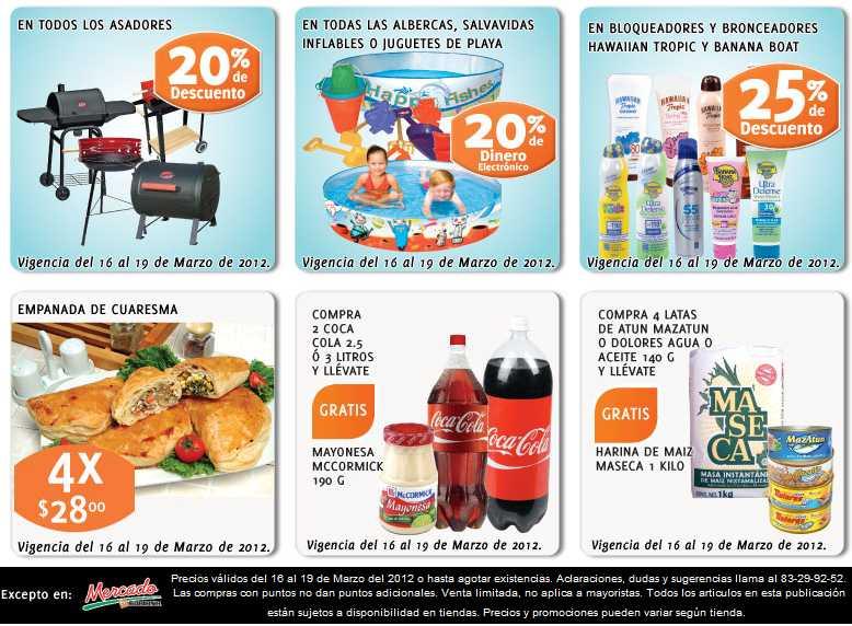 """Soriana: todas las pantallas LCD y plasma de 40 a 43"""" a $6,999, 20% en monedero en albercas y más"""