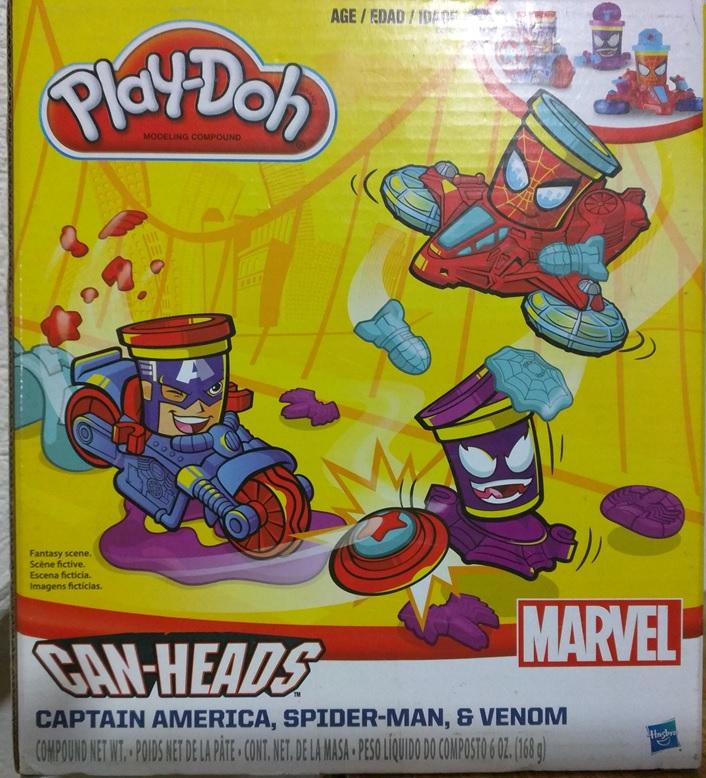 Bodega Aurrerá Patio Ayotla: Play Doh Marvel $36.01