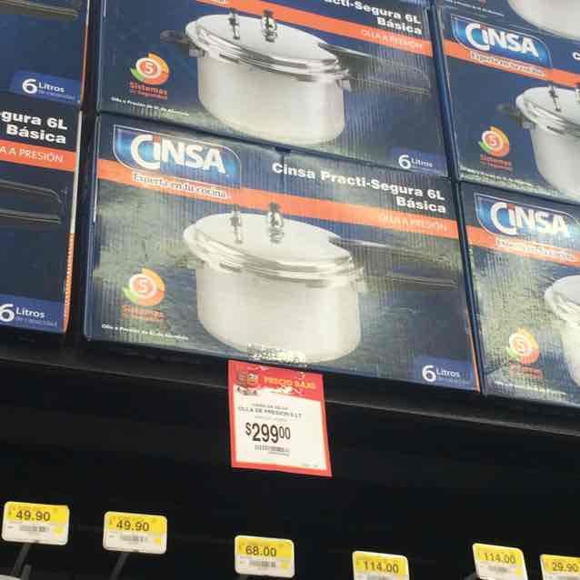 Walmart: olla express Cinsa a $299