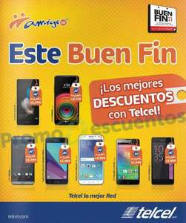 El Buen Fin 2016 en Telcel: descuentos en celulares