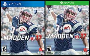 Amazon México: Madden 2017 para PS4 o Xbox One