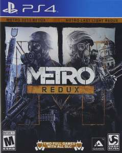 Amazon MX: Metro Redux PS4