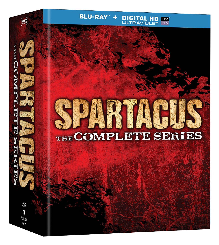 Amazon: Spartacus, la serie completa en Blu-ray