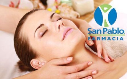 Folleto Farmacias San Pablo: 30% en Hawaiian Tropic, 45% en Electrolit y más