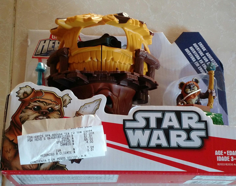 Walmart Salina Cruz: Juguete niños Star Wars  a $51.01