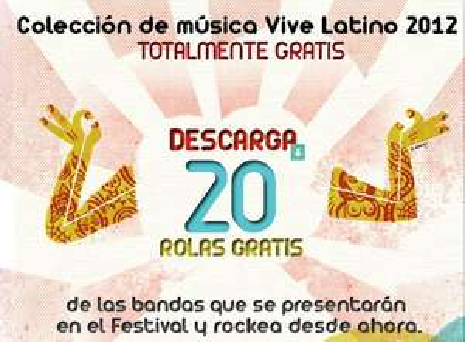 20 canciones gratis en iTunes de bandas que estarán en el Festival Vive Latino