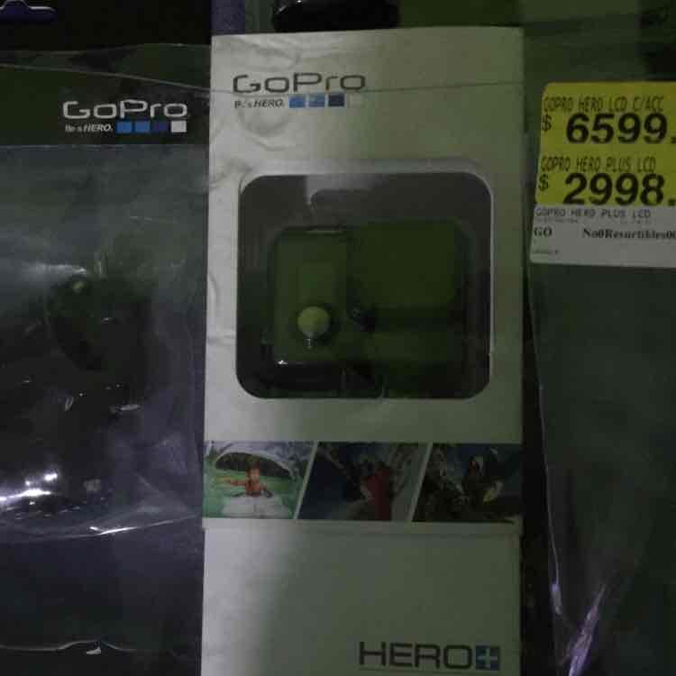 Walmart: GoPro Hero + LCD a $2,998