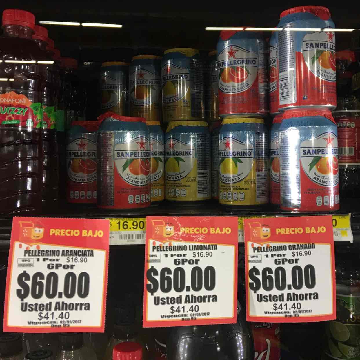 Walmart: San Pellegrino de varios sabores