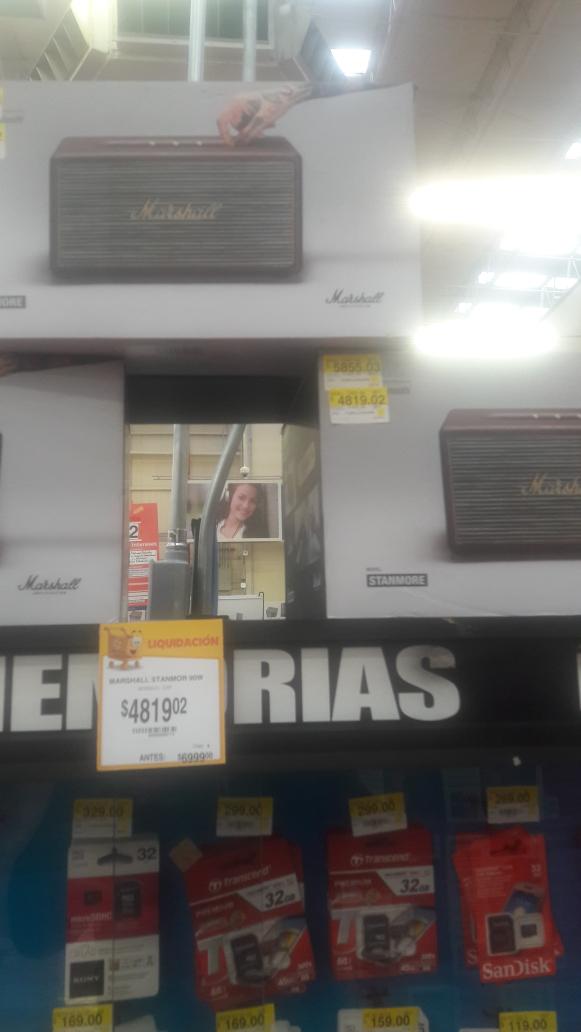 Walmart Cuitlahuac CDMX: Bocina Marshall Stanmore a $4819.02