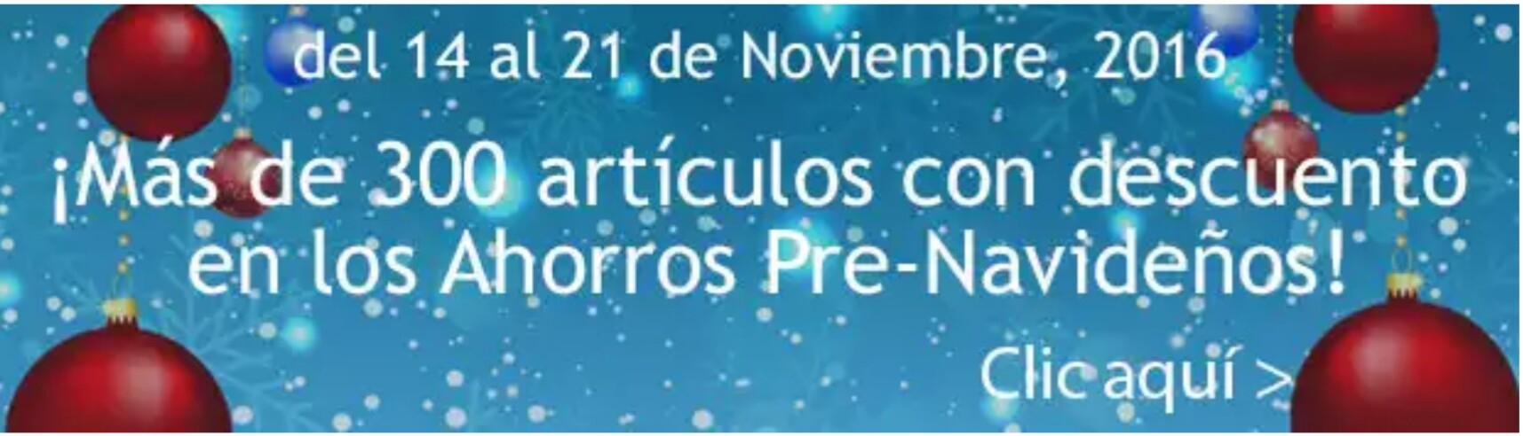 Costco: Ahorros Pre navideños del 14 al 21 de noviembre