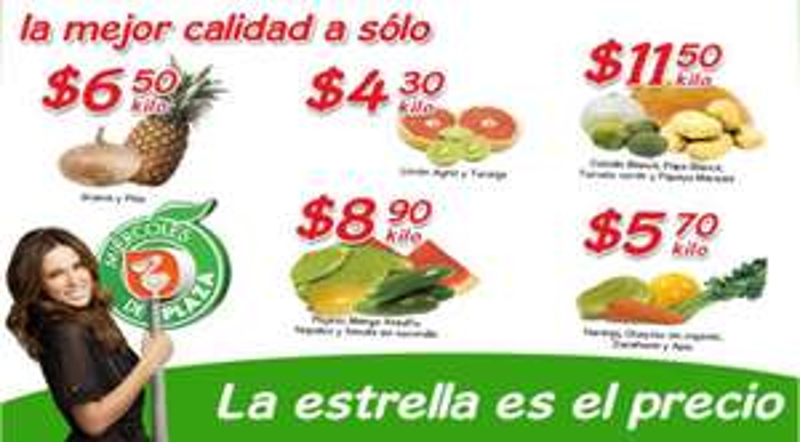 Miércoles de Plaza Comercial Mexicana marzo 14: jícama y piña $6.50 el kilo y más