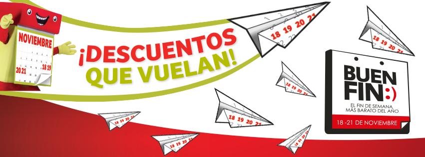 Folleto de ofertas del Buen Fin 2016 en Soriana