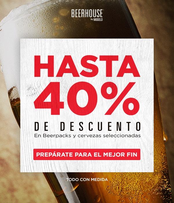 Buen Fin 2016 BeerHouse: Hasta 40% de descuento, envío gratis en toda la tienda y cupón de $150 en compras mayores a $1,000 con PayPal