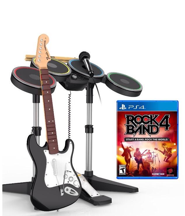 Amazon México: Rock Band 4 (Paquete completo) para PS4