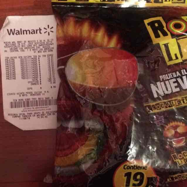 Walmart: bolsa de Paletas Rockaleta