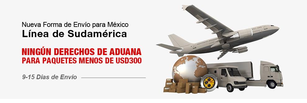 TinyDeal: Nueva forma de envío, línea de Sudamérica $300dls libres de impuestos de aduana