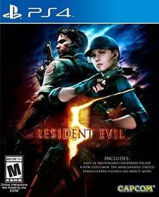 Amazon México (O Sanborns): Resident Evil 5 para Xbox One o Ps4