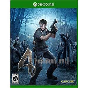 Amazon México (O Sanborns): Resident Evil 4 para Xbox One o Ps4