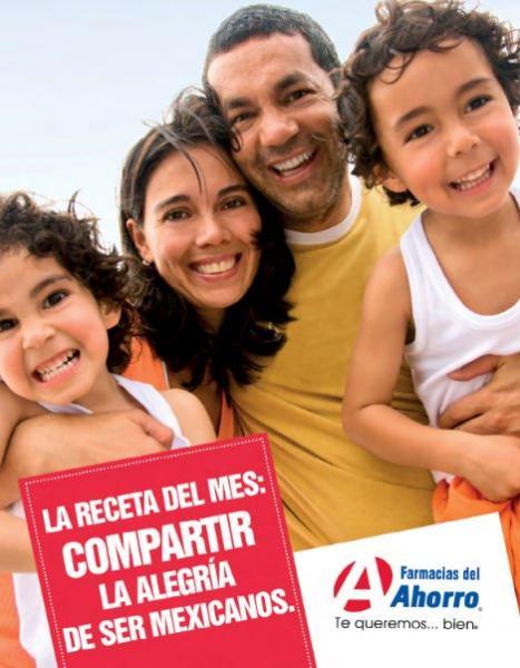 Folleto de ofertas Farmacias del Ahorro septiembre 2014