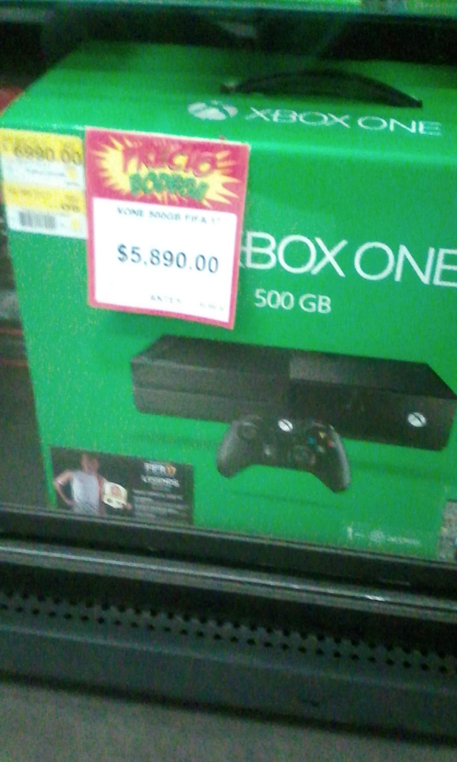 Bodega Aurrerá: Xbox One con FIFA 17 a $5,890