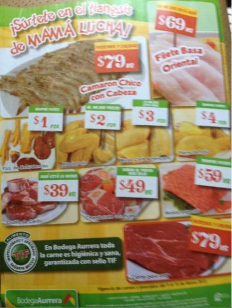 Tianguis de Mamá Lucha Bodega Aurrerá marzo 9: aguacate $17.90 Kg, lechuga $2.90 pza y más