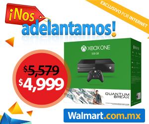 Adelantos El Buen Fin en Walmart: laptop 8GB de RAM $5,999, Xbox One con Quantum $4,999 y más