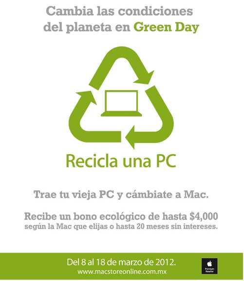 MacStore: bono de hasta $4,000 en la compra de una Mac reciclando PC