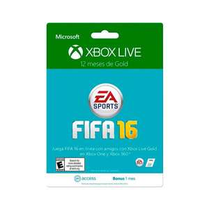 Home Store Villahermosa: Xbox Live Gold 12 meses $699