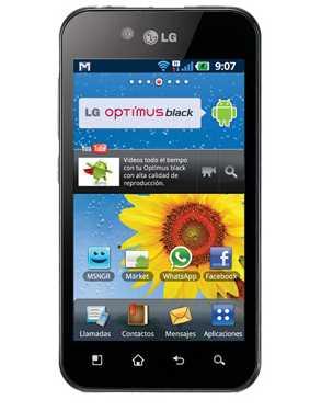Palacio de Hierro: LG Optimus Black a $4,199 (regular $7,499)