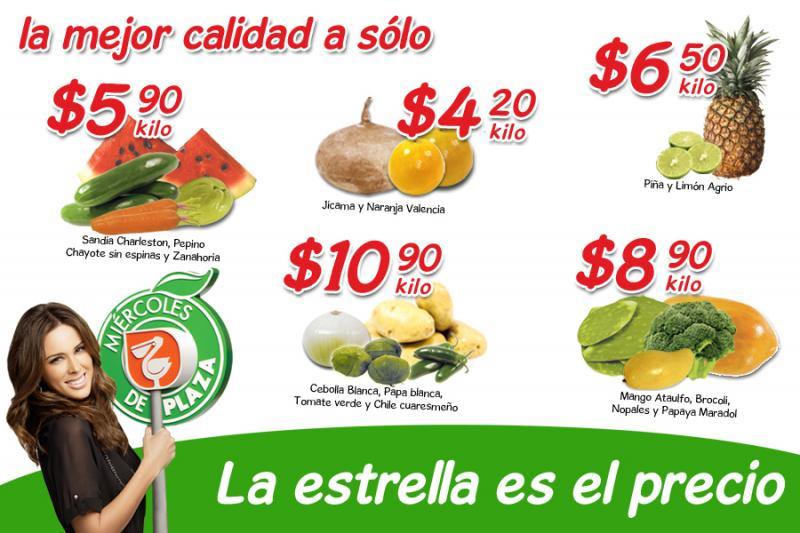 Miércoles de Plaza en La Comer marzo 7: jícama $4.20 Kg, mango $8.90 Kg y más