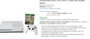 El Buen Fin 2016 Amazon: Xbox One S 1 TB a $7,012 y meses sin intereses