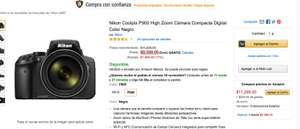 Amazon: Nikon Coolpix P900 High Zoom Cámara Compacta Digital Color Negro