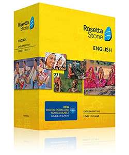 Amazon: Rosetta Stone - Niveles 1-5 (Curso completo)
