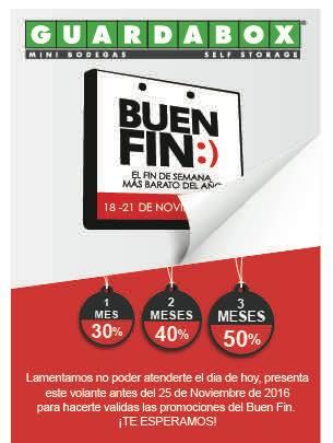 GuardaBox: desde 30% a 50% por Buen Fin.