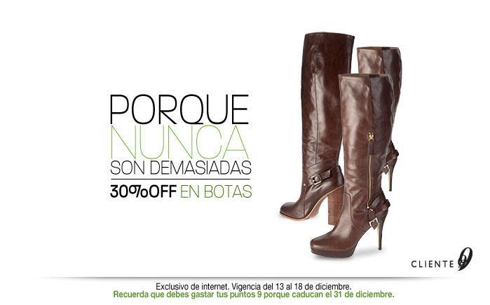 Nine West: 25% de descuento en zapatos de noche y sin tacón