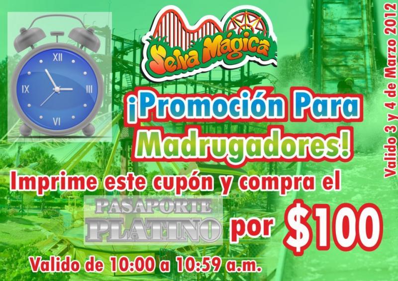 Selva Mágica: pasaporte platino a $100 con cupón