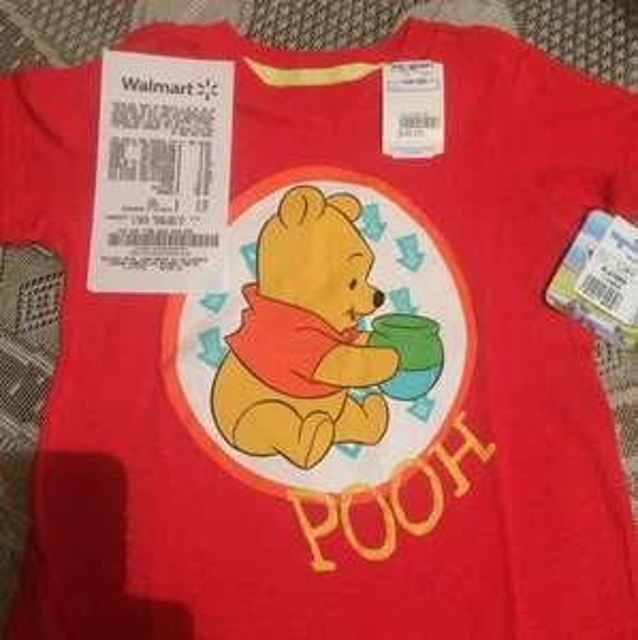 Walmart: playera para niño de winnie pooh a $10.02
