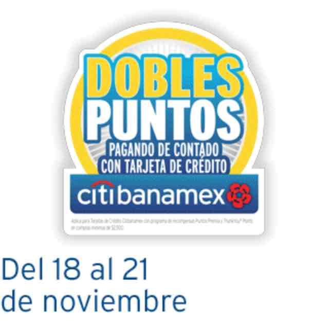 Citibanamex: Doble Puntos Premia