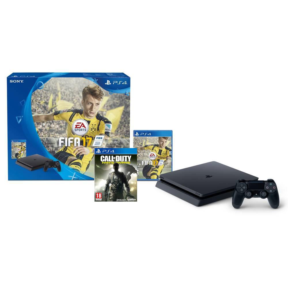 Walmart El Buen Fin 2016: PS4 Slim + Fifa 17 + COD Infinite desde $5,421