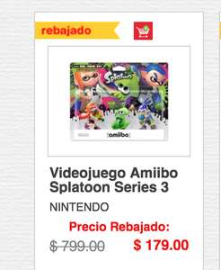 HEB: Amiibos Splatoon Baratos
